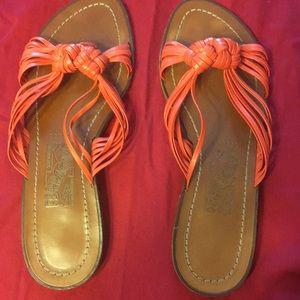 a5793b14e7ad Salvatore Ferragamo coral sandals